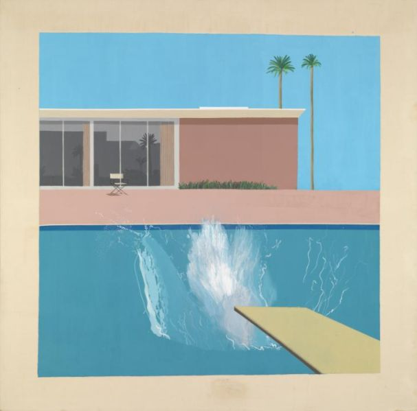 A Bigger Splash, 1967 by David Hockney (Photo: Courtesy the artist's website).