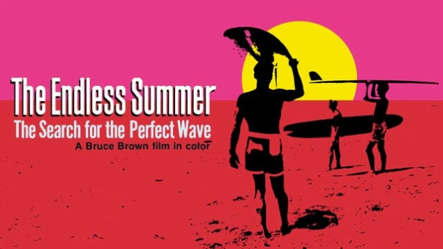 Movie poster for The Endless Summer. (Photo: Courtesy of Bruce Brown Films)
