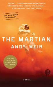 Paperback cover for Andy Weir's The Martian. (Image: Penguin Random House)