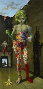 Dorothea Tanning, The Magic Flower Game, (1941). (Photo: Sotheby's)