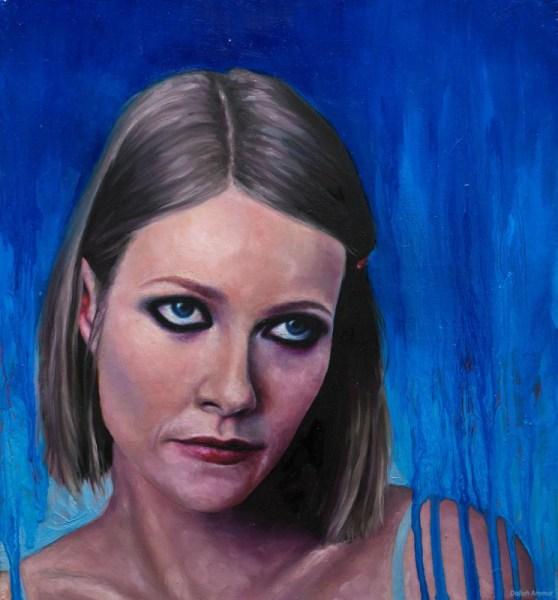 A portrait of angst-y Margot Tenenbaum by Daliah L. Ammar