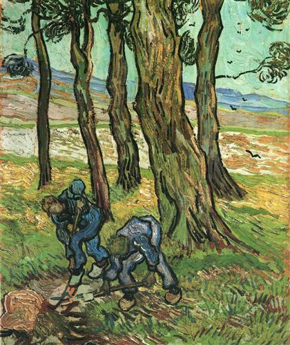 Vincent Van Gogh, The Diggers (1889). (Photo: Wikimedia Commons)