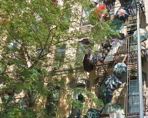 Umbrella House, a Lower East Side HDFC co-op. (Google Earth)