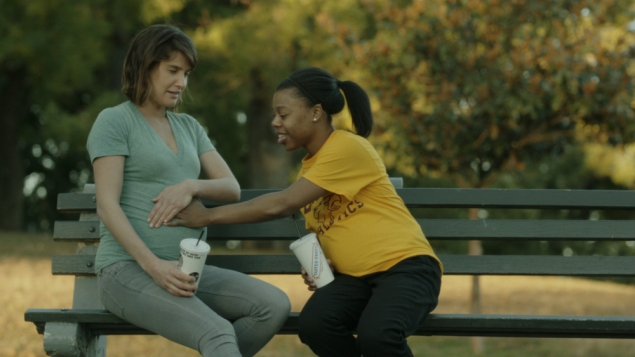 From left: Cobie Smulders and Gail Bean in Unexpected.