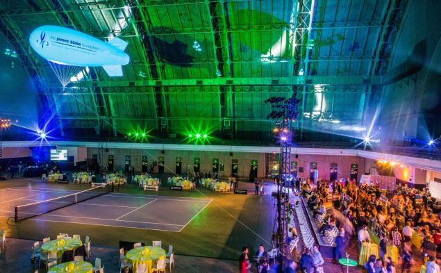 A creative event for tennis star James Blake's cancer charity. (Photo: The Weinstein Carnegie Philanthropic Group)