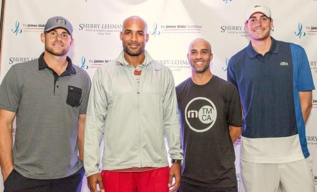 A shot from James Blake's charity event. (Photo: The Weinstein Carnegie Philanthropic Group)