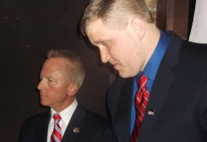 Van Drew. left, and the incumbent Democratic Assemblyman.