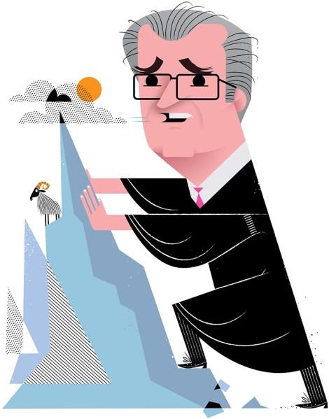 Chief Judge Jonathan Lippman (Illustration: Kirsten Ulve)