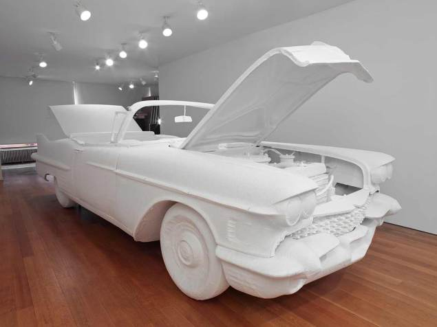 Will Ryman, Cadillac. (Photo: courtesy the artist and Paul Kasmin Gallery)