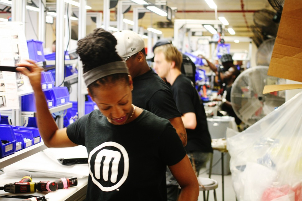 Makerbot factory in Sunset Park