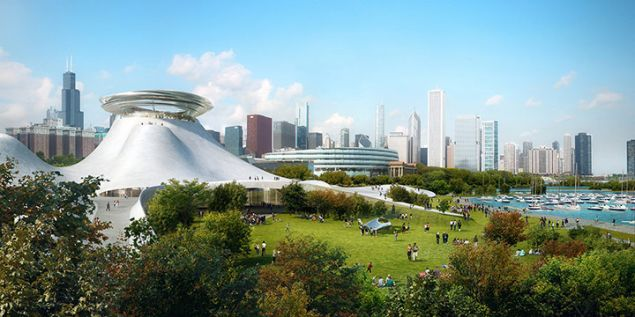 The hotly disputed designs for the Lucas Museum of Narrative Art in Chicago. (Photo: Lucasmuseum.org)