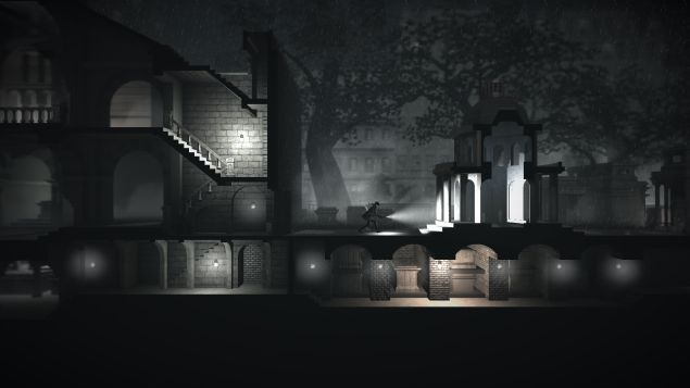A screenshot of Calvino Noir, a new adventure game for iPhone and iPad. (Photo: Calvino Noir)