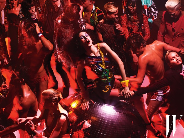 The Mert and Marcus party spread from September 2015 (Photo: Courtesy)