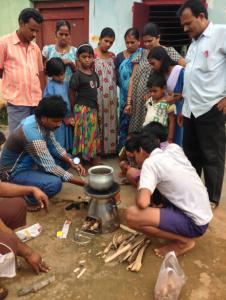 A Biolite demo in India. (Photo: Biolite)