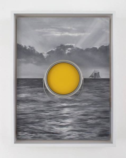 Conor Backman, Slow Sunset, 2015 (Photo: Courtesy of Retrospective Gallery)