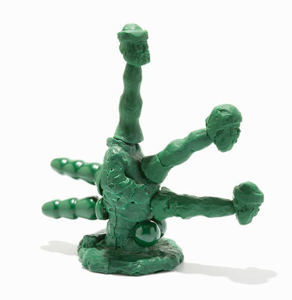 Lot #7, Paul McCarthy, Santa Octopussy, (2004). (Photo: Auctionata)