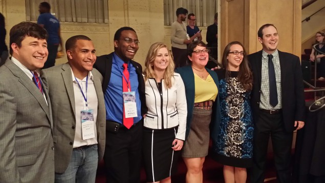 The newly elected leaders of the Young Democrats of America.