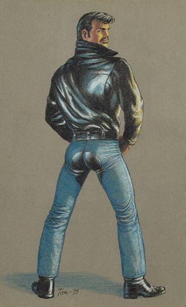 Lot #9, Tom of Finland, Untitled, (1979). (Photo: Auctionata)
