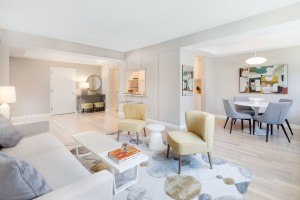 The $11,000-a-month, three-bedroom units at 245 East 80th Street draw interest from French families; the Lycée Français is nearby. (PHOTO: Travis Mark/aptandlofts.com)