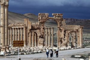 The ancient Syrian city of Palmyra, which is now under ISIL control. (AFP Photo: Joseph Eid/AFP/Getty Images)