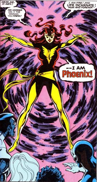 Dark Phoenix as she appears in X-Men #134. (Photo: Courtesy Comic Book Resources)