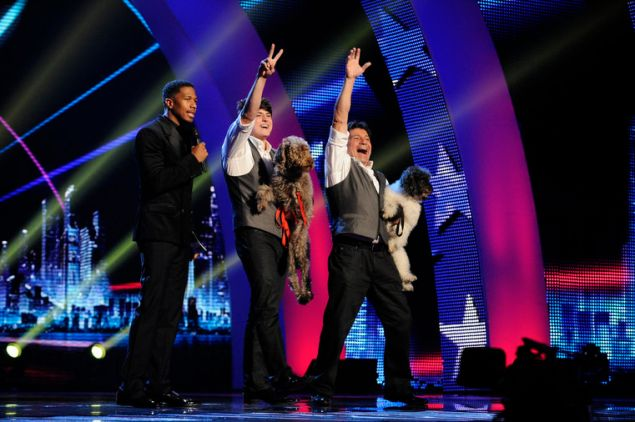 Season Seven winning act the Olate Dogs.