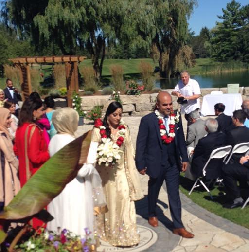 Essex County GOP Chairman Al Barlas on his wedding day this summer.