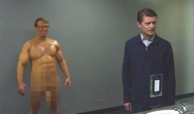 Andy Daly and James Urbaniak in Review.