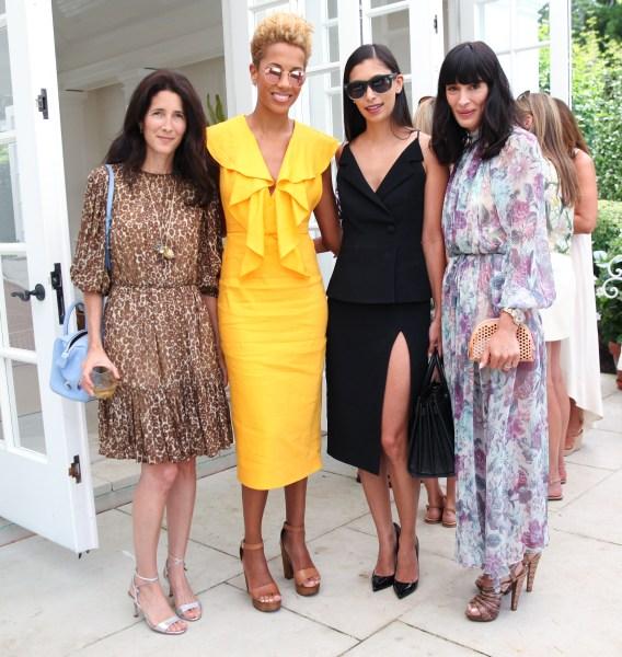 Amanda Ross, Carly Cushnie, Michelle Ochs, and Athena Calderone. (Photo: BFA)