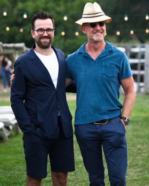 Dan Rookwood and Adam Brown. (Photo: BFA)