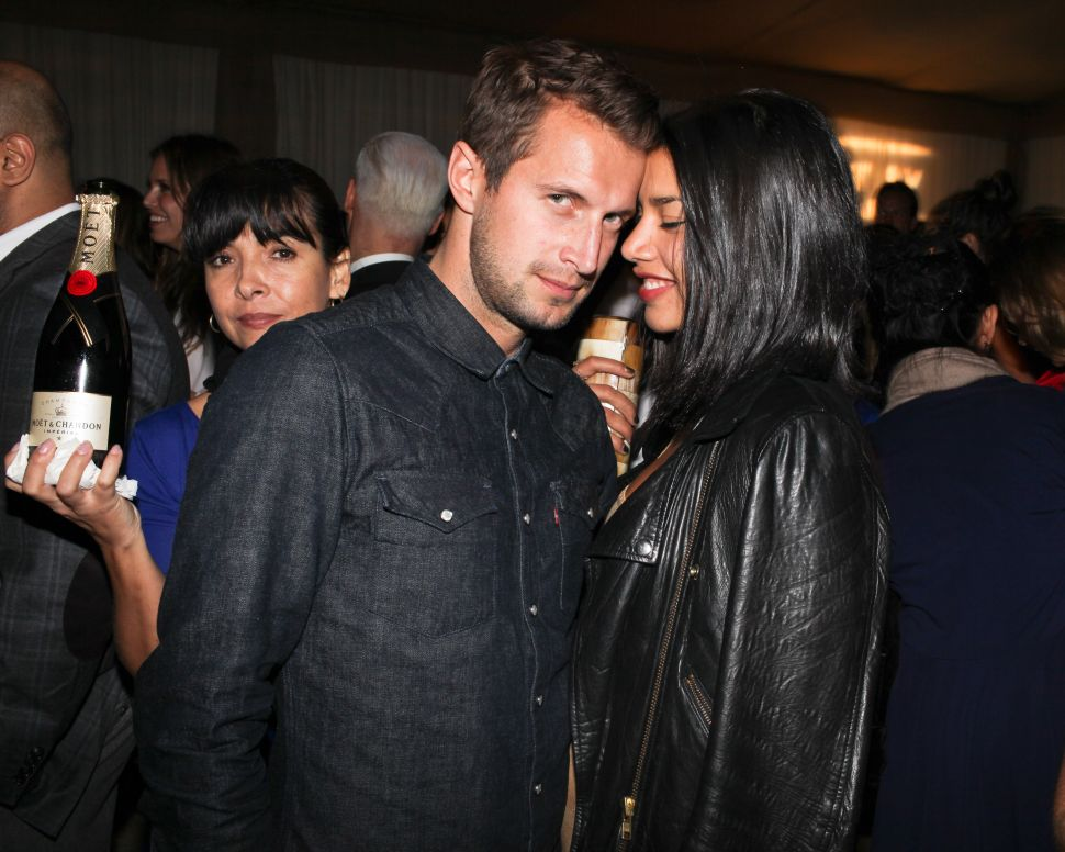 Brendan Fallis, Hannah Bronfman first pictured in 2011 attending the Art.sy Soho Beach House Celebration Presented by Louis Vuitton and Cartier (Photo: David X. Prutting for BFA).