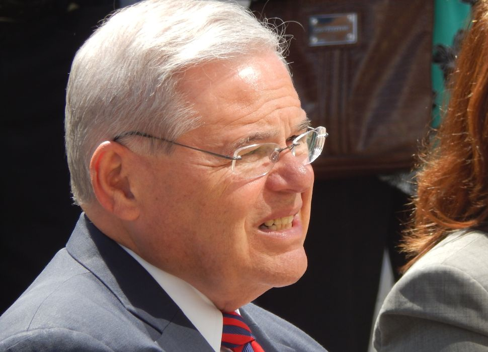 US Sen. Bob Menendez sits atop a decent warchest as he looks ahead to a race for re-election in 2018.