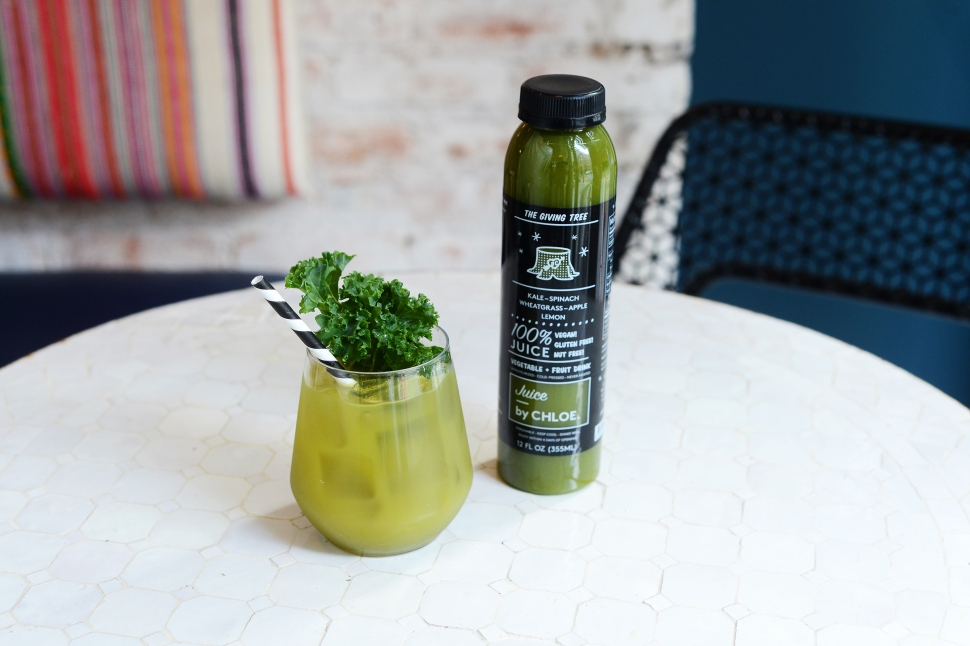 Kale-Matcha Mojito Cocktail (Photo: by CHLOE).