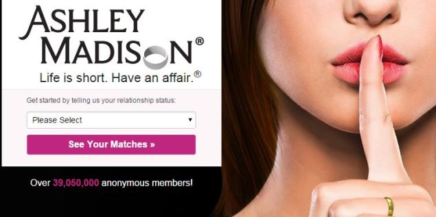 Ashley Madison homepage (Photo: Screenshot/AshleyMadison.com)