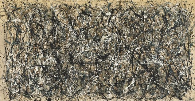 Jackson Pollock, One: Number 31, 1950, (1950). (Photo: MoMA)