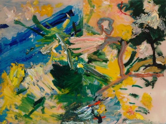 Darius Yektai, Untitled landscape, 2014.(Photo: Courtesy Tripoli Gallery)