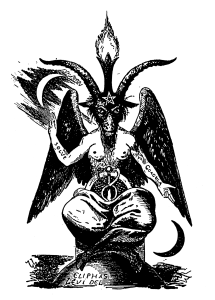 The original Baphomet drawing by