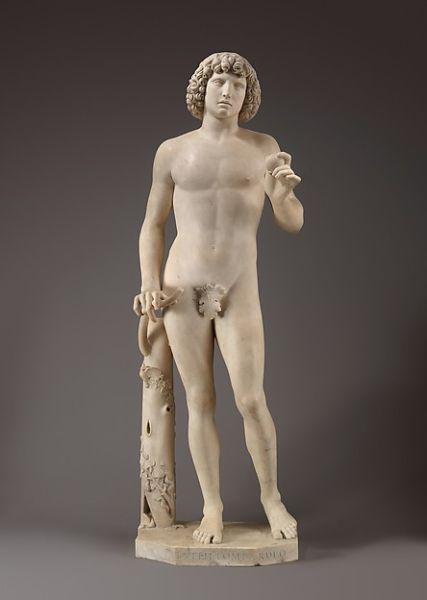 Tullio Lombardo, Adam, (ca. 1490–95). (Photo: The Met)