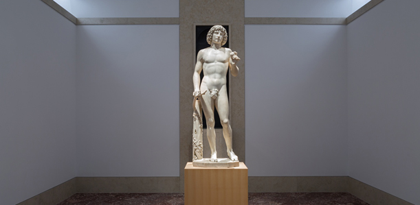 Tullio Lombardo's Adam in the new dedicated gallery. (Photo: The Met)