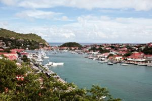 A picture taken on May 13, 2010 shows the Gustavia harbour on Saint-Barthelemy island, French west indies Guadeloupe department. AFP PHOTO CYRIL FOLLIOT (Photo credit should read CYRIL FOLLIOT/AFP/Getty Images)