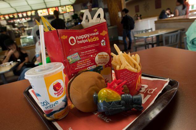 A McDonald's Happy Meal. (Photo: David Paul Morris/Getty Images)