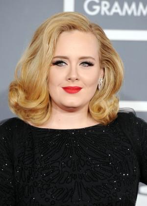 Adele is a regular De Beers wearer. (Photo by Jason Merritt/Getty Images)