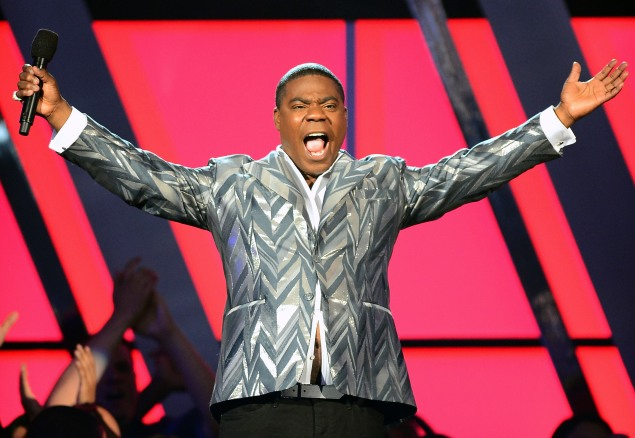 LAS VEGAS, NV - MAY 19: Actor/comedian Tracy Morgan hosts the 2013 Billboard Music Awards at the MGM Grand Garden Arena on May 19, 2013 in Las Vegas, Nevada. (Photo by Ethan Miller/Getty Images)