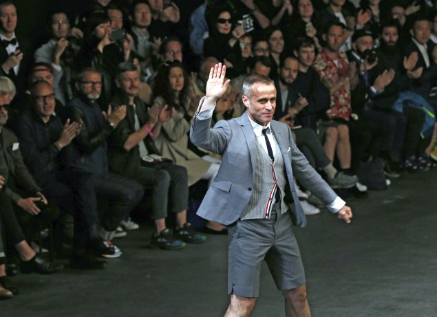 Thom Browne (Photo: Francois Guillot/AFP/Getty Images)