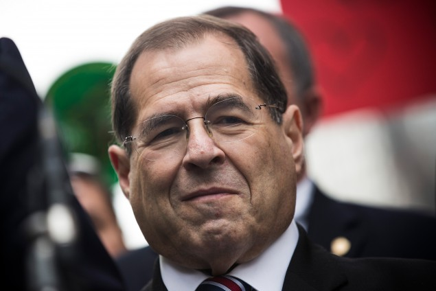 U.S. Rep. Jerry Nadler, pictured here on September 8, 2014, has come under intense scrutiny for supporting the President's Iran deal. (Andrew Burton/Getty Images)