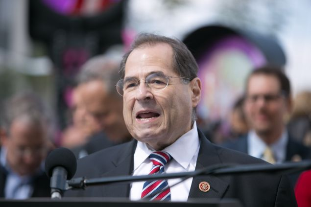 NEW YORK, NY - SEPTEMBER 20: Congressman Jerrold Nadler attends High Line At The Rail Yards Dedication And Opening Ceremony at Highline on September 20, 2014 in New York City. (Photo by Jason Carter Rinaldi/Getty Images)