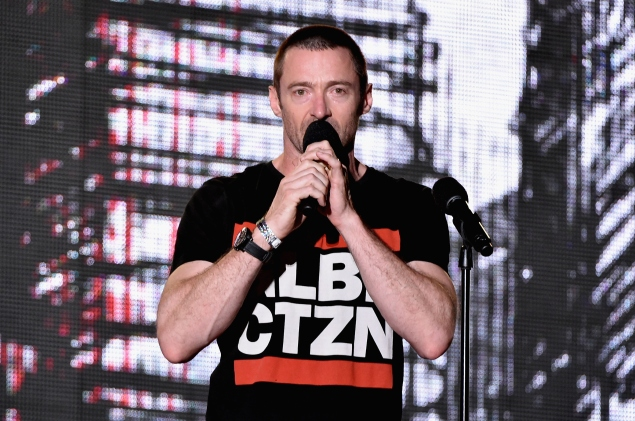 Hugh Jackman at last year's Global Citizen Festival. (Photo: Theo Wargo/Getty Images for Global Citizen Festival)