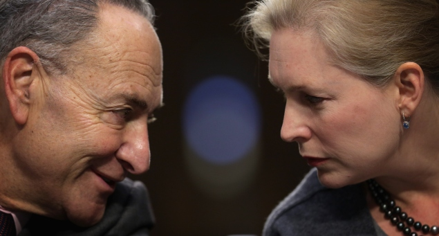Senators Charles Schumer and Kirsten Gillibrand  (Photo: Alex Wong for Getty Images)