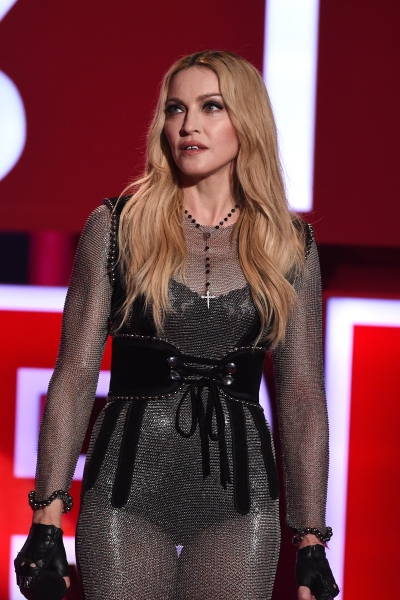 Madonna on stage (Photo: Kevin Winter/Getty Images for iHeartMedia)