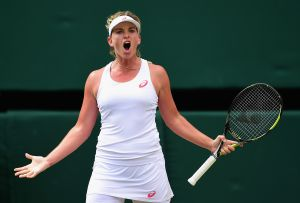 Vandeweghe isn't shy about speaking her mind, on court or off. (Photo by Shaun Botterill/Getty Images)